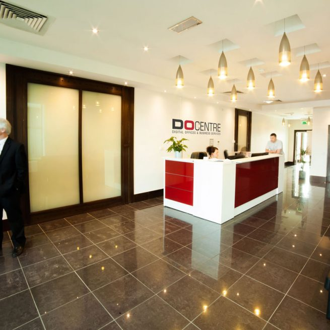 Maynooth DO Centre Serviced Offices Reception