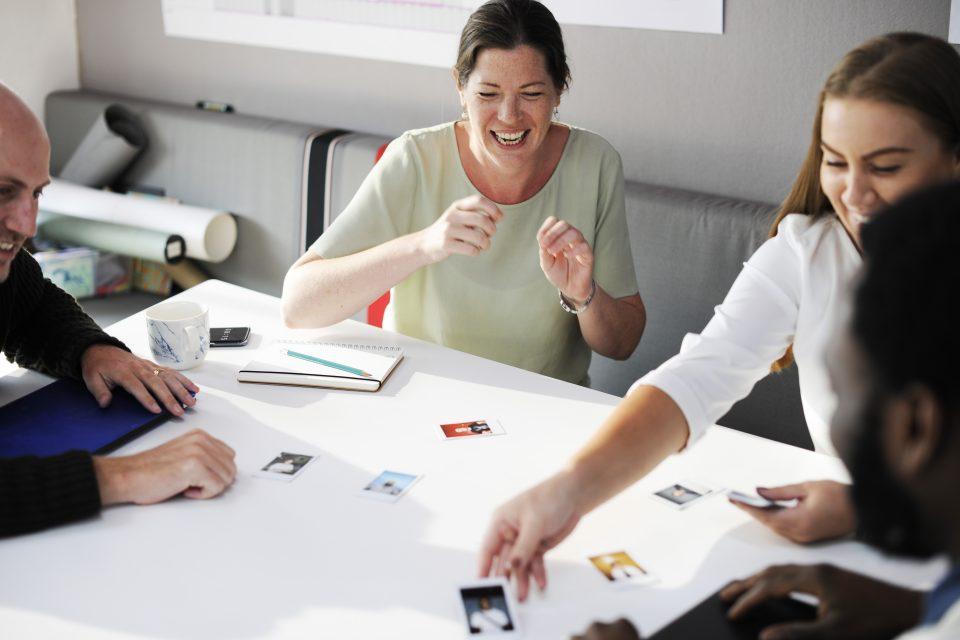 work collaboration team building