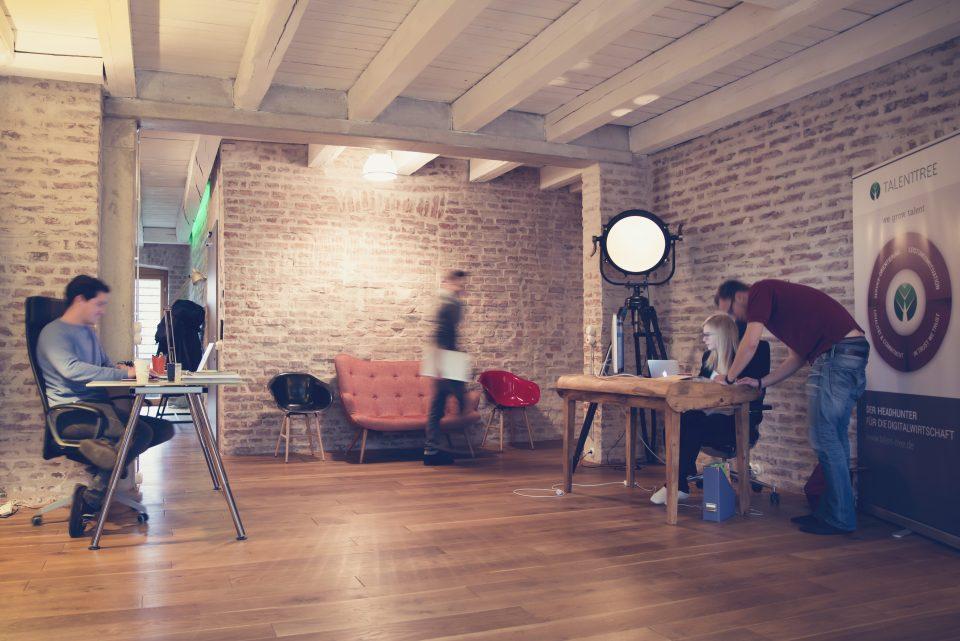 industrial coworking space